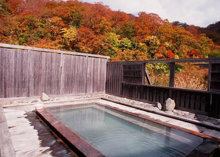 7.黒湯温泉