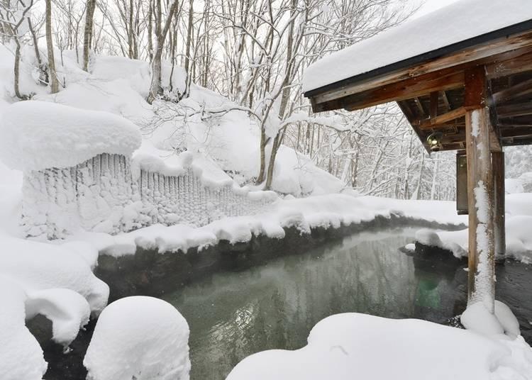 3. 비탕(비밀의 온천탕)의 숙소,  가니바 온천