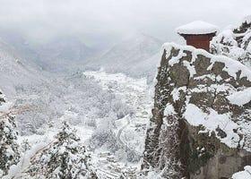 日本東北10大雪景推薦!奧入瀨溪流、銀山溫泉、冰柱等