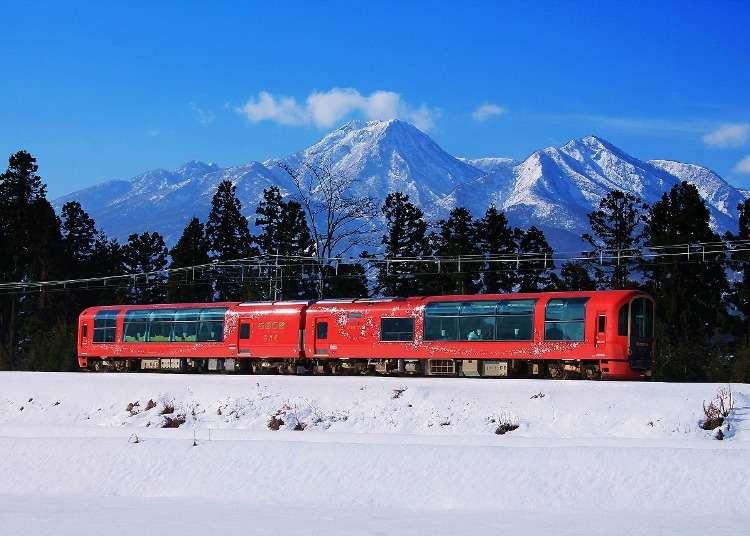 壮大な雪景色も圧巻!東北・冬の鉄道旅ができる観光列車5選