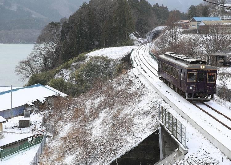 2. 三陸鐵道 暖爐桌列車(岩手)