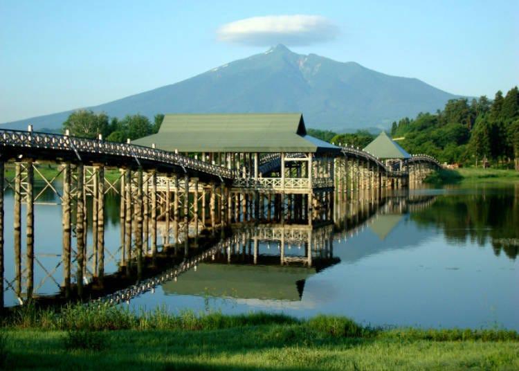 1. Tsuru no Maihashi Bridge (Tsuruta)