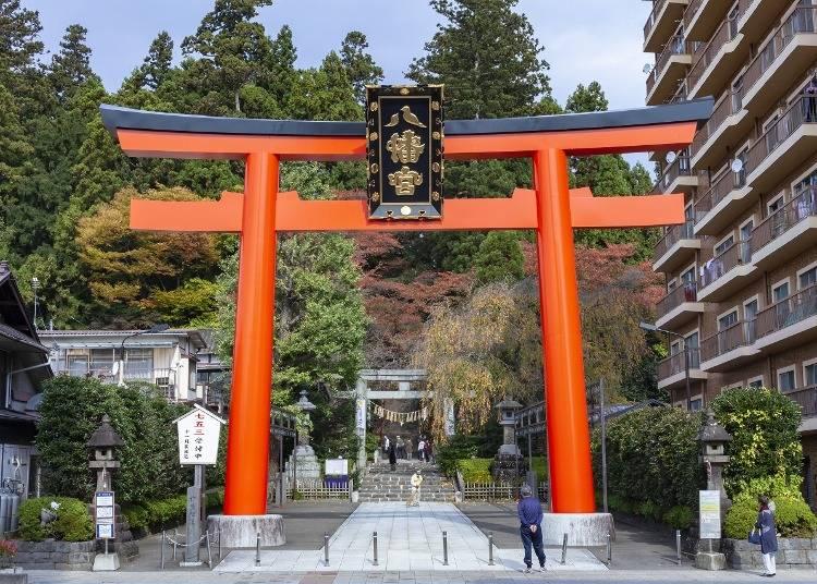 6.政宗公が造営した荘厳な社殿「大崎八幡宮」