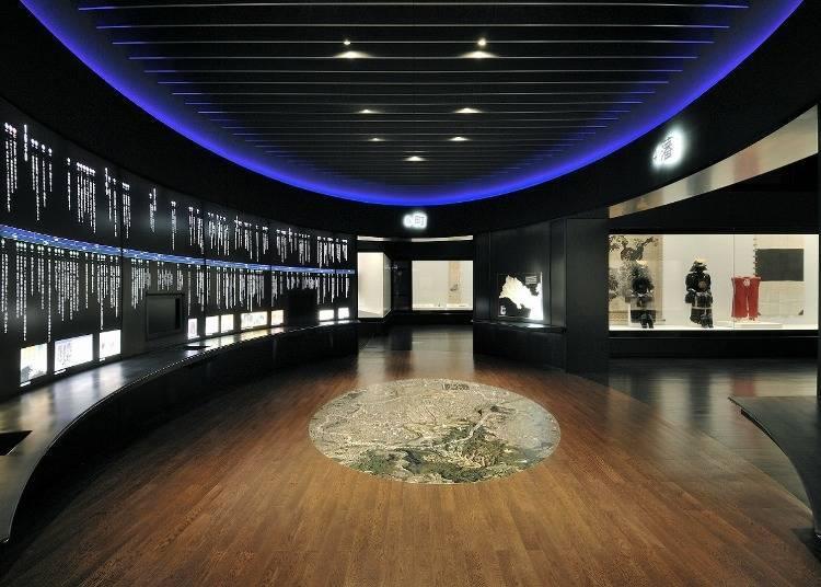 3.'센다이시 박물관'에서 본, 마사무네 연고의 물건들