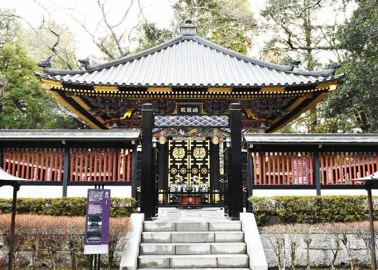 2. 伊達政宗公在此長眠,絢爛華麗的靈廟「瑞鳳殿」