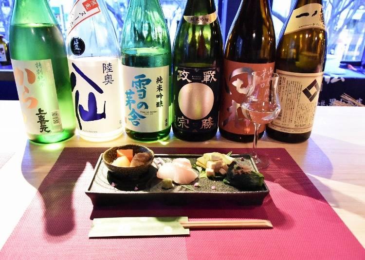 利き酒ワークショップで日本酒を知る