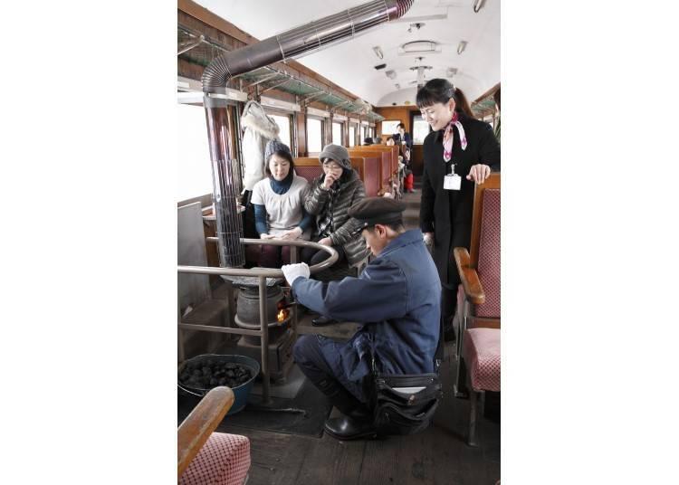 8. 츠가루 철도 스토브 열차를 타본다