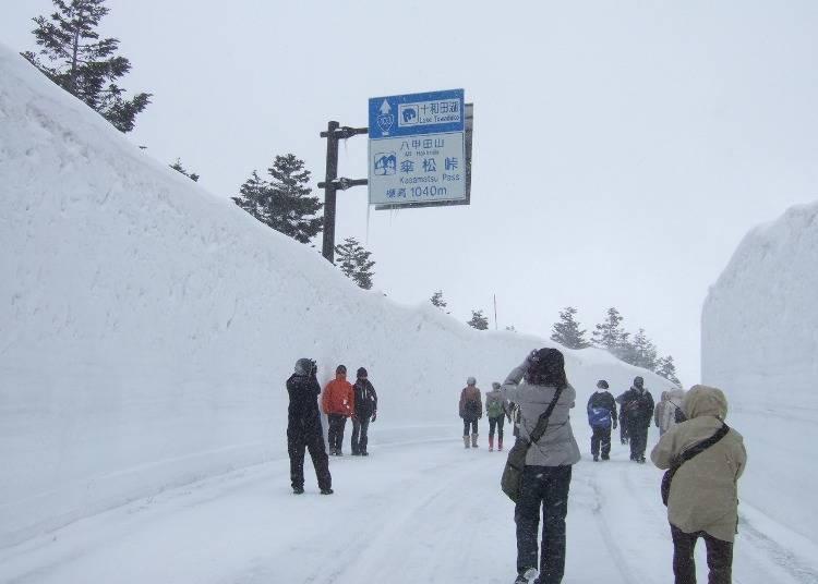 10. 震撼人心的雪壁迴廊