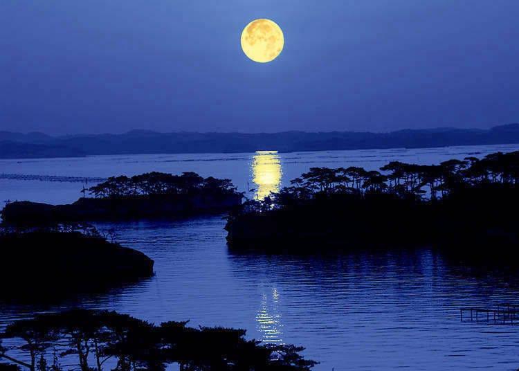 岩石與島嶼交織的美景~松島