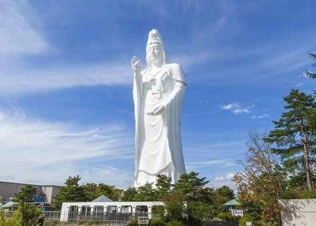 ラスボス感すご…超巨大な「仙台大観音」が海外でも話題!自由の女神像よりも大きい!?