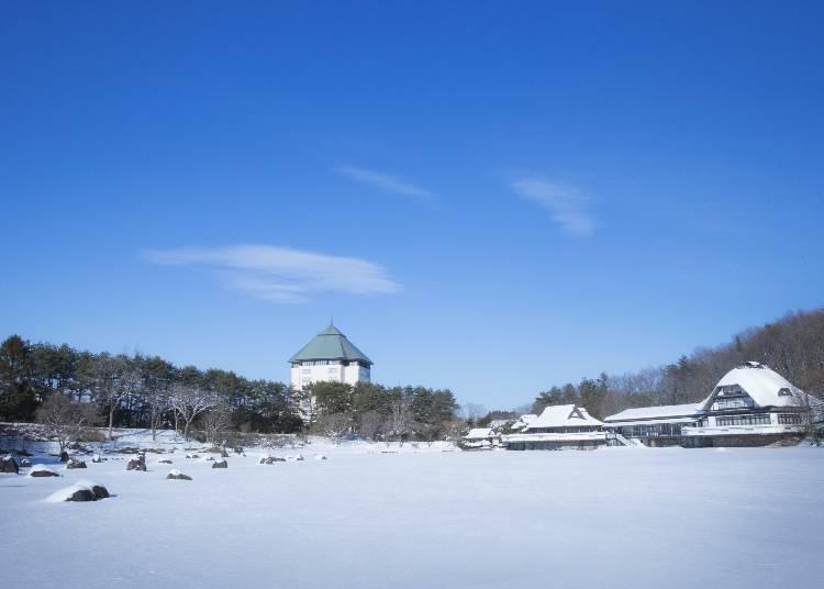 "1. Experience the charm of Aomori at Hoshino Resorts Aomoriya's ""Neburi Nagashi Toro"" Hot Spring"