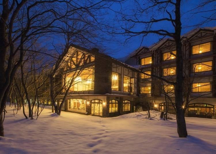 """2. Seasonal beauty at Hoshino Resorts Oirase Keiryu Hotel – the """"Icefall Hot Spring"""""""