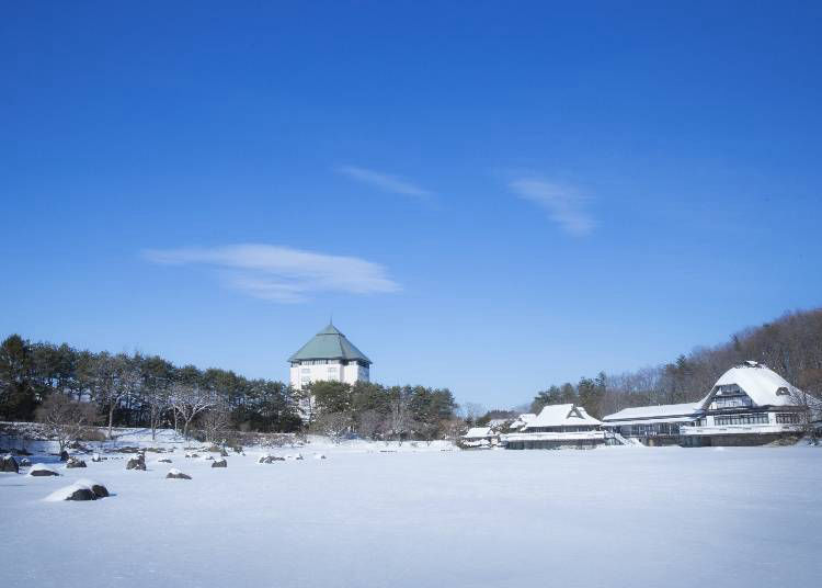 1 : 아오모리의 매력이 응축된 온천 숙소 · 호시노 리조트 아오모리야의 네부리 나가시 토로