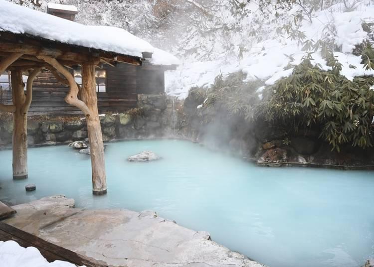 2. Akita Prefecture's Nyuto Onsen (Japan's Famous Baths - Nyuto)