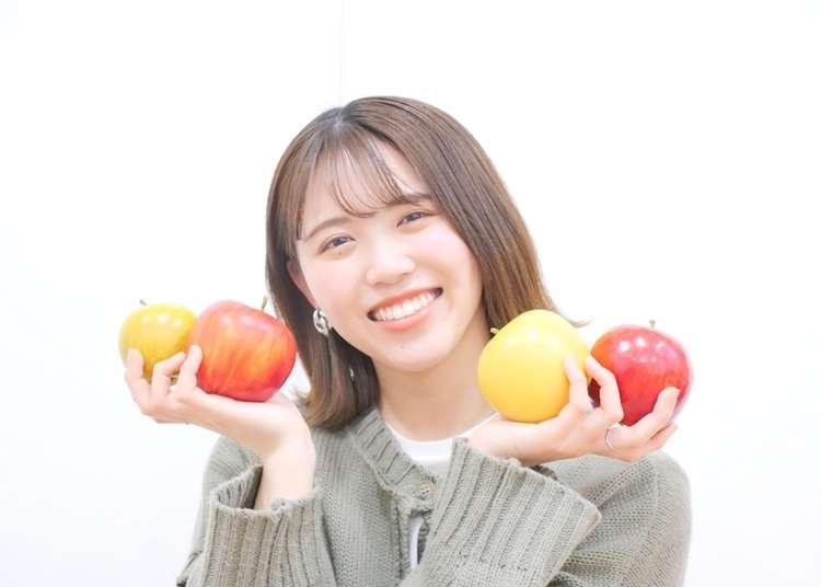 りんごアイドルが教える!日本産りんごの特徴や種類、皮のむき方、おすすめ料理などを一挙公開