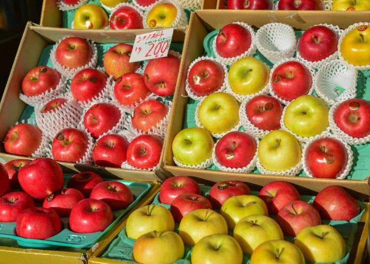 Where can I buy Aomori apples? Tsugaru is an autumn treasure trove of apples