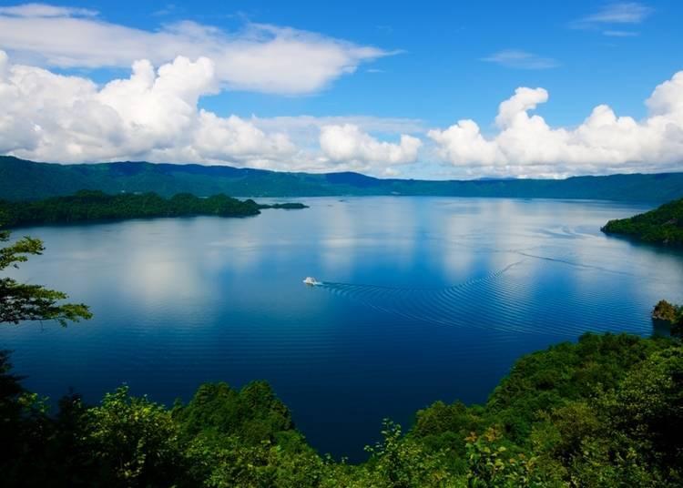 4. Lake Towada