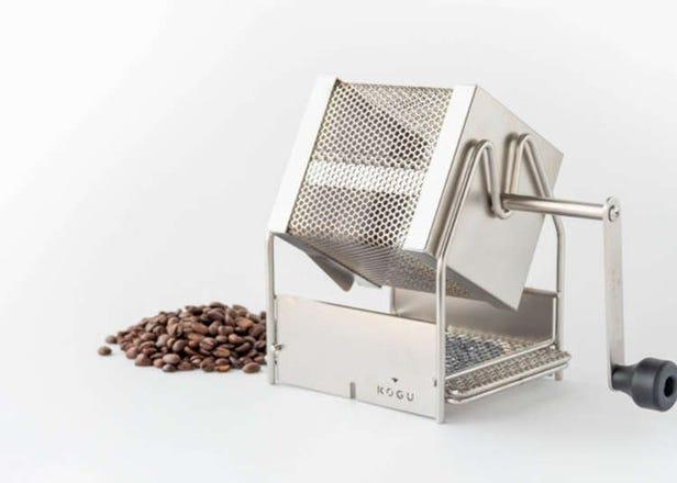 咖啡控必備!日本產迴轉式烘豆烤箱,讓你在家輕鬆烘培咖啡豆