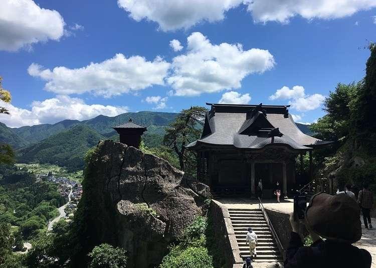 야마가타 여행 - 산속의 절(호쥬산 릿샤쿠지/宝珠山 立石寺) 볼거리 정리! 산책 루트 및 사진찍기 좋은 곳 소개
