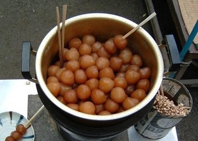 Enjoy Yamadera cuisine