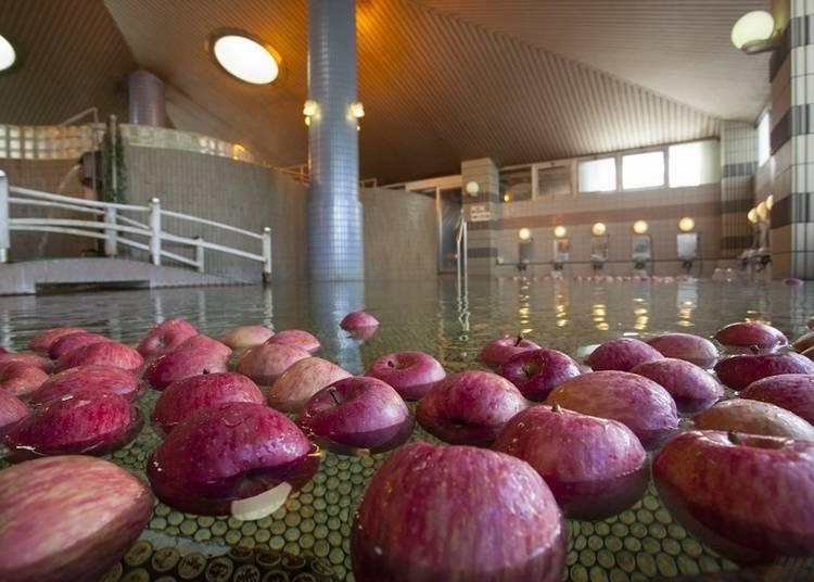 2)南田温泉ホテルアップルランド:名物りんご風呂に癒される温泉旅館