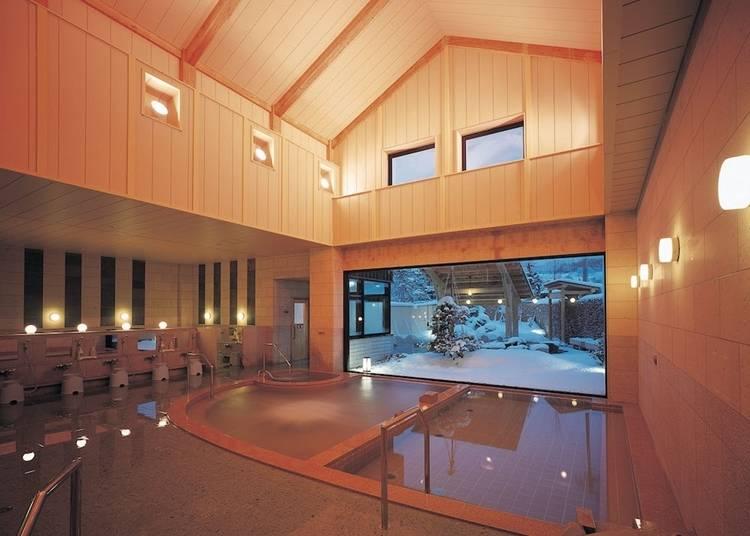 7)大鰐温泉:800年以上の歴史ある伝統温泉