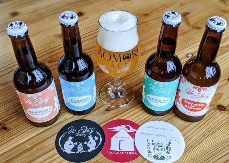 10. Gareth's craft beer