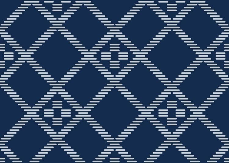5.傳統工藝品kogin刺繡