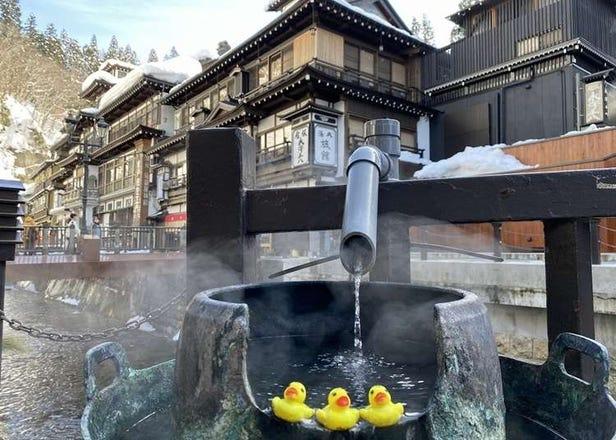 야마가타현 여행 - 긴잔 온천까지의 액세스를 자세하게 해설! 도쿄와 센다이, 가까운 역에서가는 방법은?