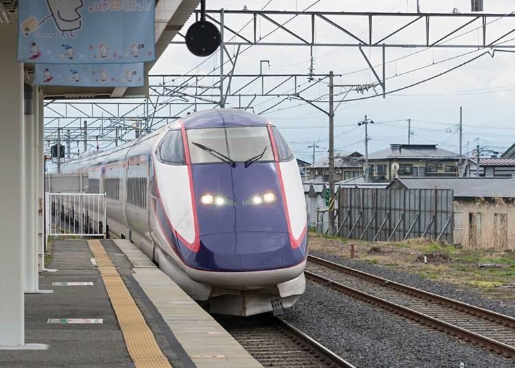從東京車站、仙台車站前往距離銀山溫泉最近的大石田站交通方式