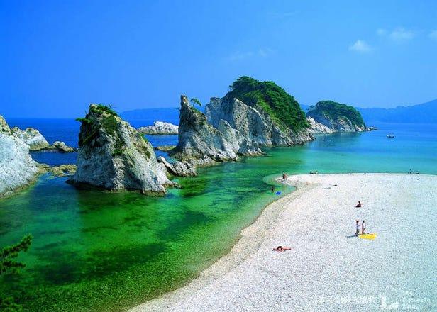 美到像是走進天堂!日本東北涼一夏海岸美景6大精選
