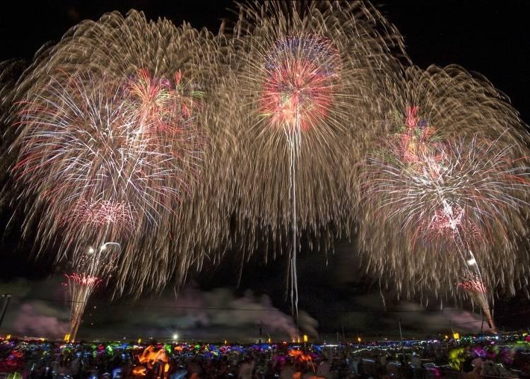 【秋田県】全国花火競技大会「大曲の花火」