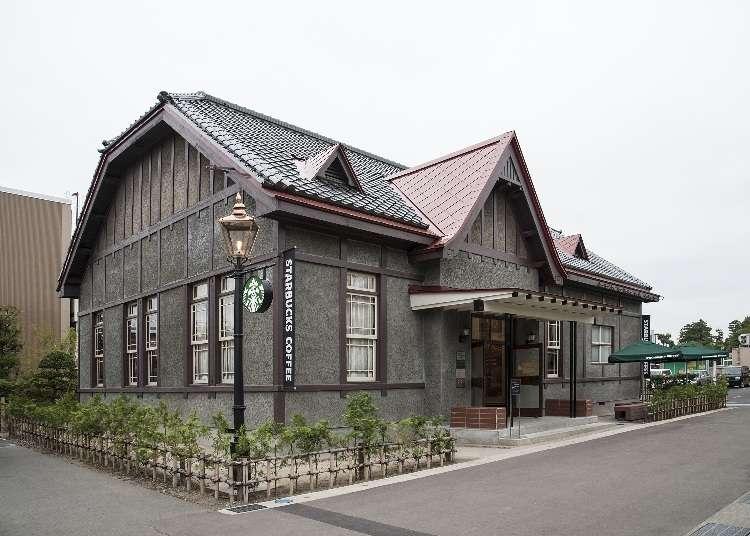 「スターバックス コーヒー 弘前公園前店」は和と洋の融合が美しい!可愛い限定グッズも紹介