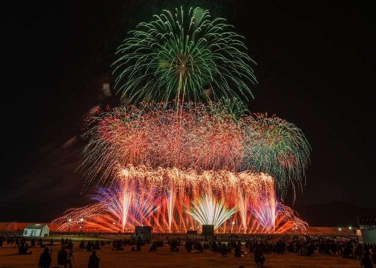 Sanriku Fireworks Competition 2021 (Oct 9): A Modern Way to Enjoy Fireworks