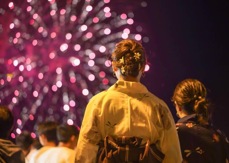 来日前から憧れ!「浴衣で花火大会」はTHE 日本のイメージ