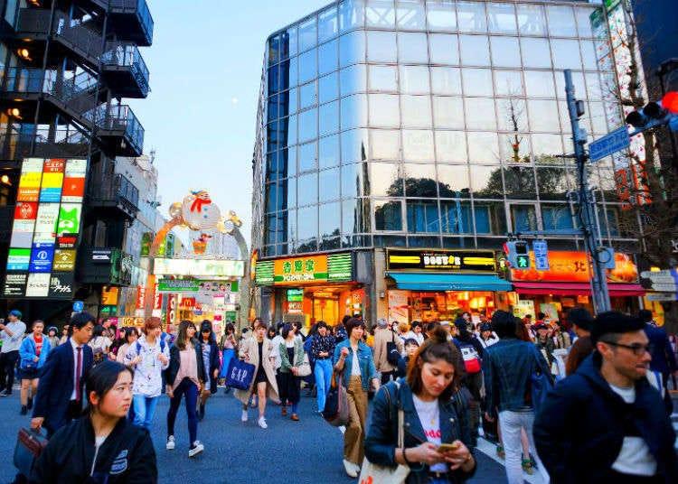 【하라주쿠×패션전문점】일본을 방문한 외국인들의 인기시설 랭킹 2019년 7월 편