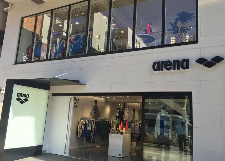 第1位:ARENA SHOP 東京