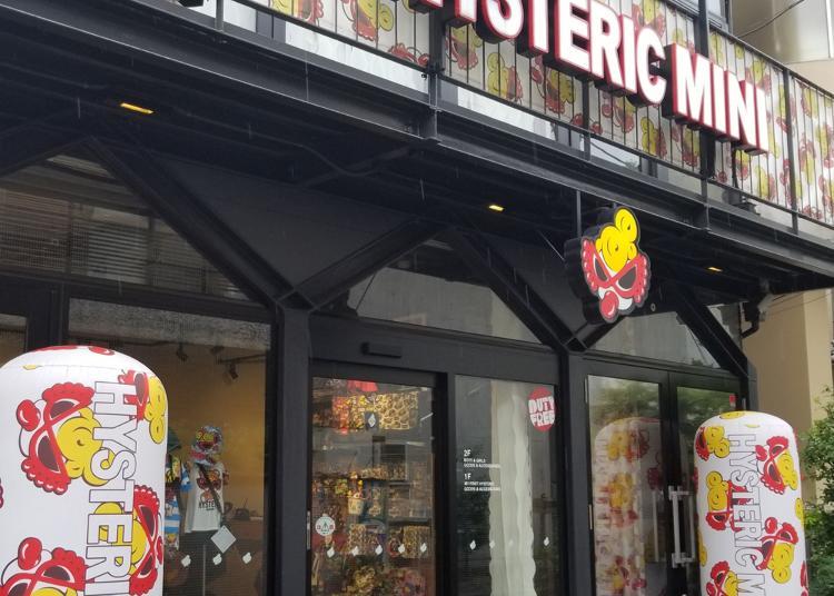 第5位:HYSTERIC MINI原宿本店