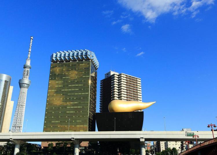 第1名:朝日集团总部大楼