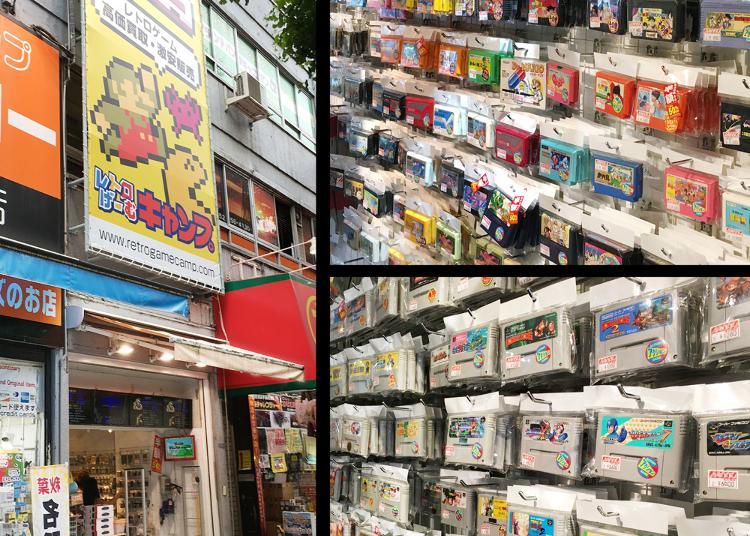 第2位:レトロげーむキャンプ 秋葉原店