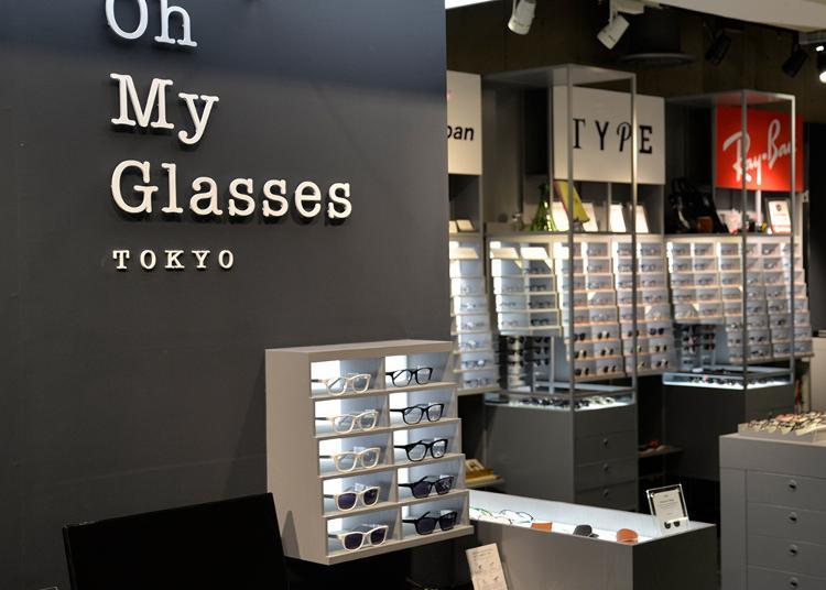 第5名:Oh My Glasses TOKYO SHIBUYA LOFT STORE