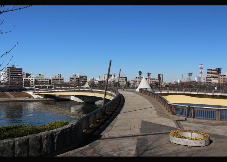 第3位:桜橋