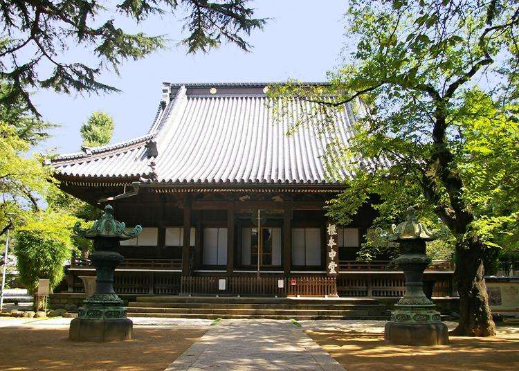 Ueno Temples: Popularity rankings by foreign tourists (July 2019)