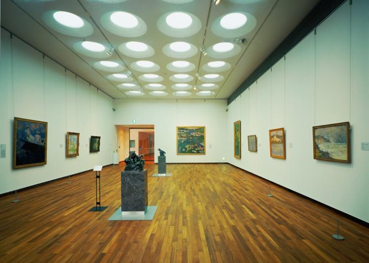 第1名:国立西洋美术馆