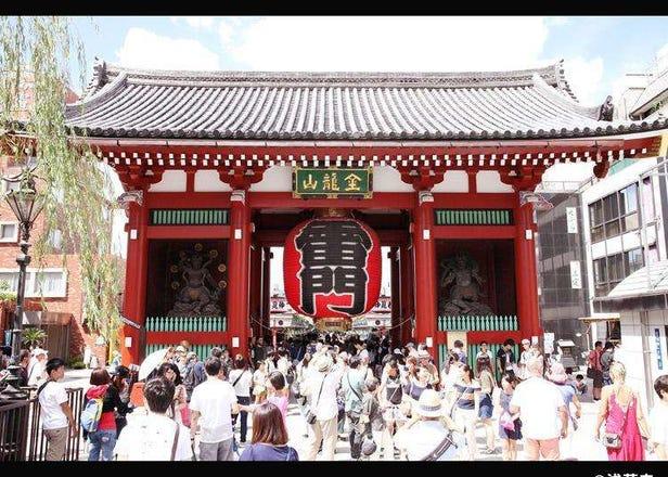 浅草×寺院 旅日外国游客热门设施排行榜 2019-7