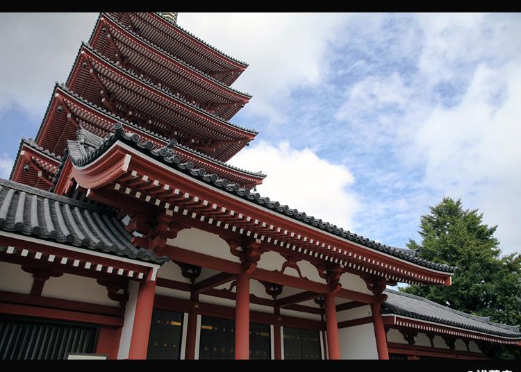 No.5:Five-storied Pagoda