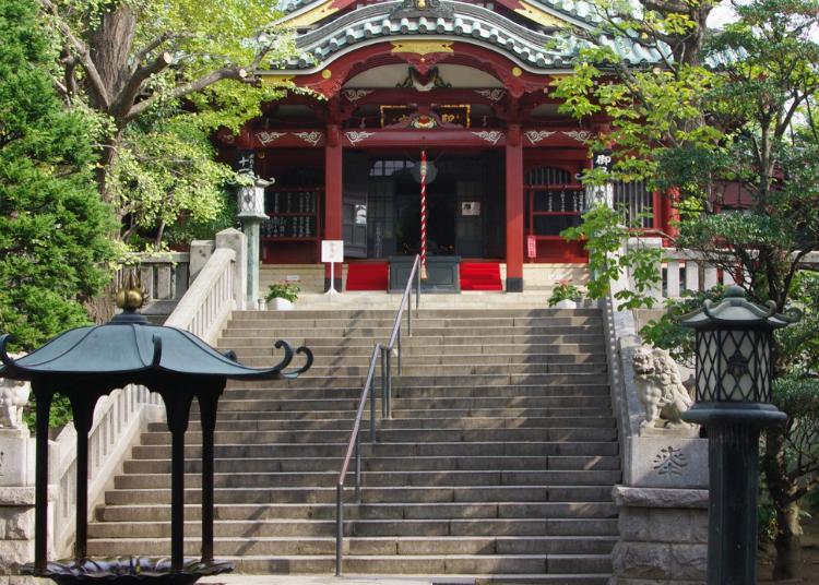 第3名:待乳山圣天 本龙院