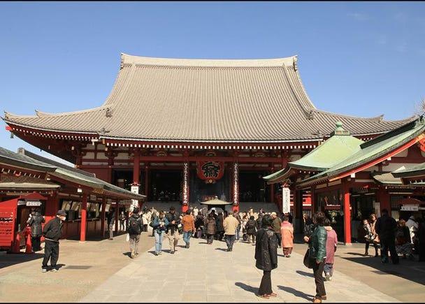 第1名:淺草寺