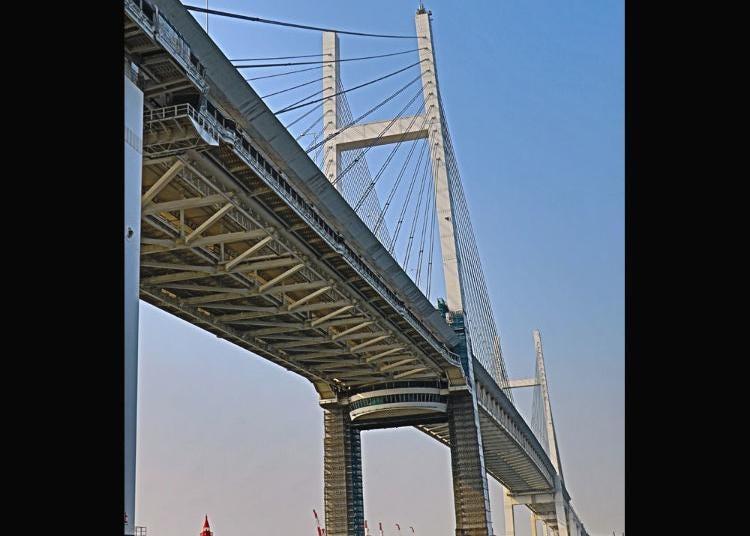 第6位:横浜ベイブリッジ