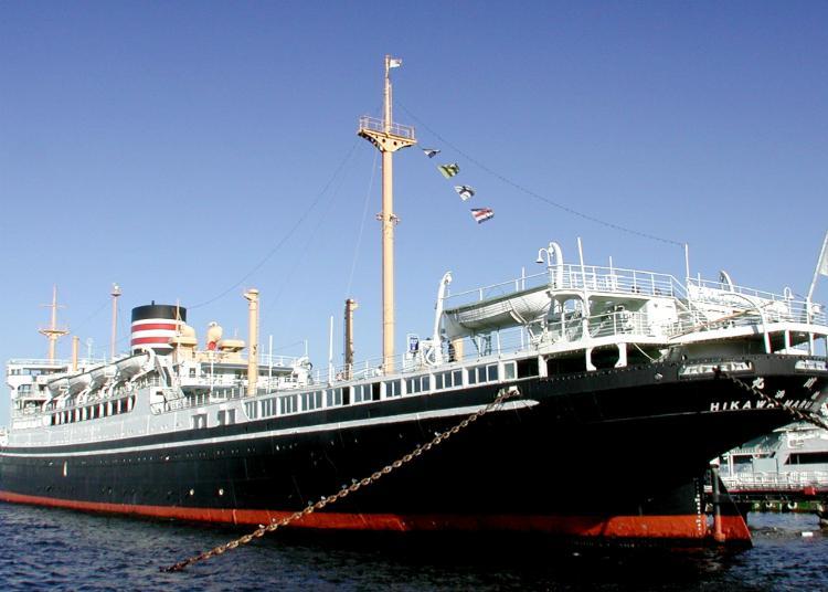 第9名:日本邮政船冰川丸